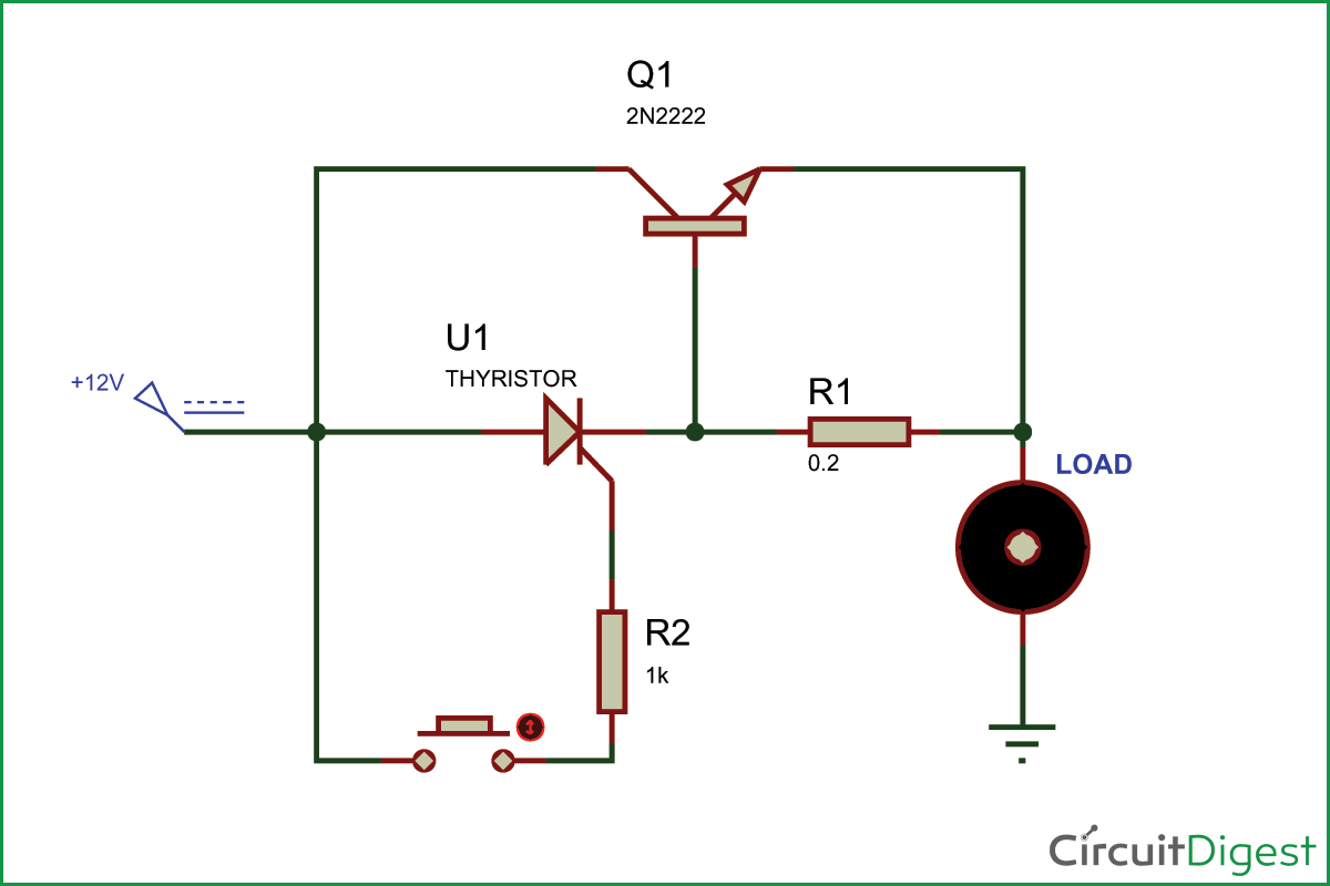 Electronic Fuse Circuit Diagram Electronics, Circuit
