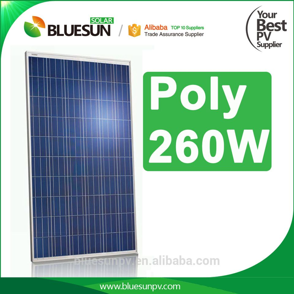 Alibaba Top Sell China Cheap Price Solar Panels 260watt 270watt Poly Soalr Panel 12v Solar Panel Solar Solar Battery Charger