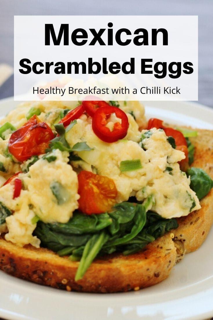 Mexican Scrambled Eggs Recipe In 2020 Healthy Cooked Breakfast Cooked Breakfast Mexican Breakfast Recipes