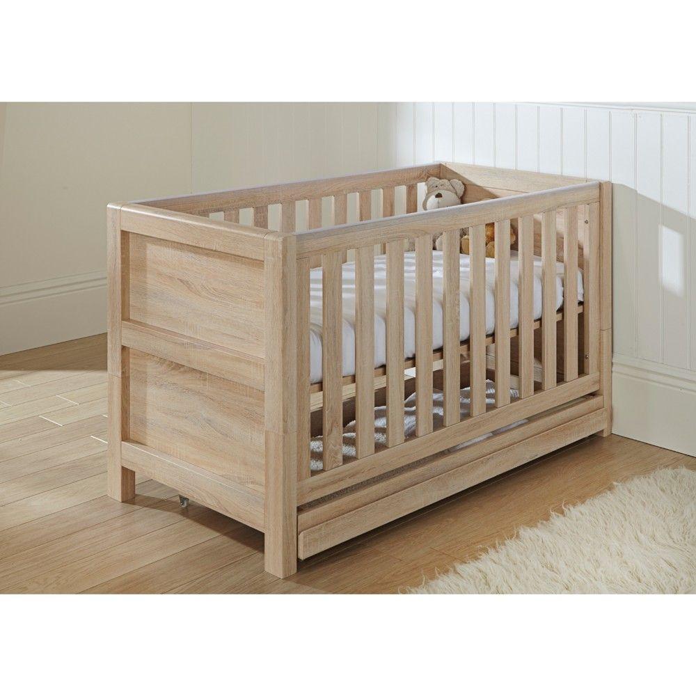 Tutti Bambini Milan Cot Bed (Reclaimed Oak Effect)