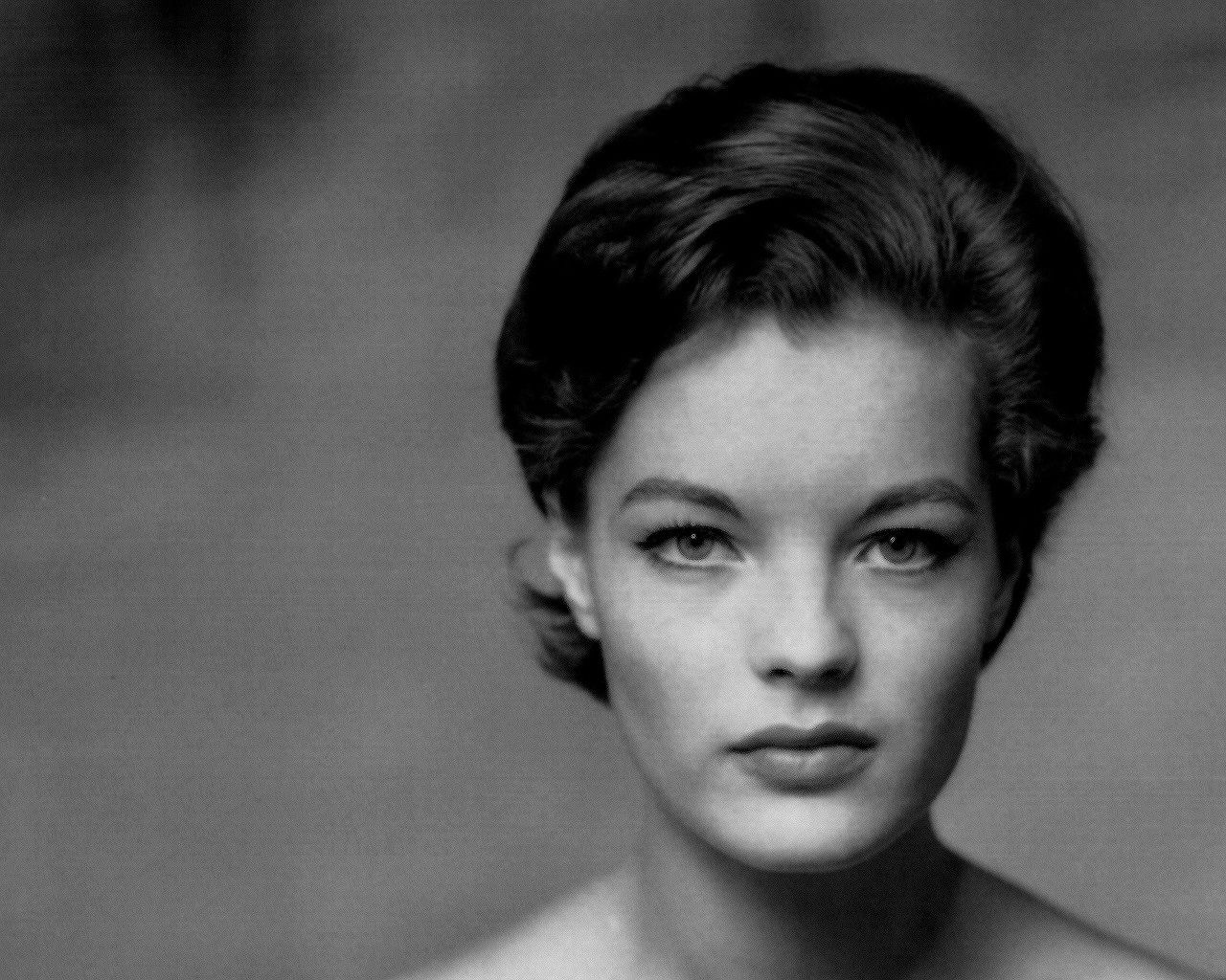 romy schneider long hair