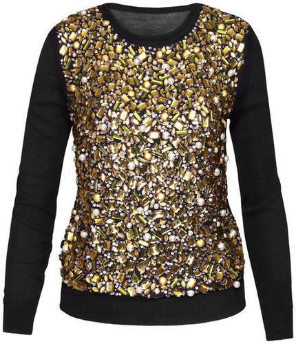 Gold & Glitter Shirt - H Fall 2012 | LUUUX