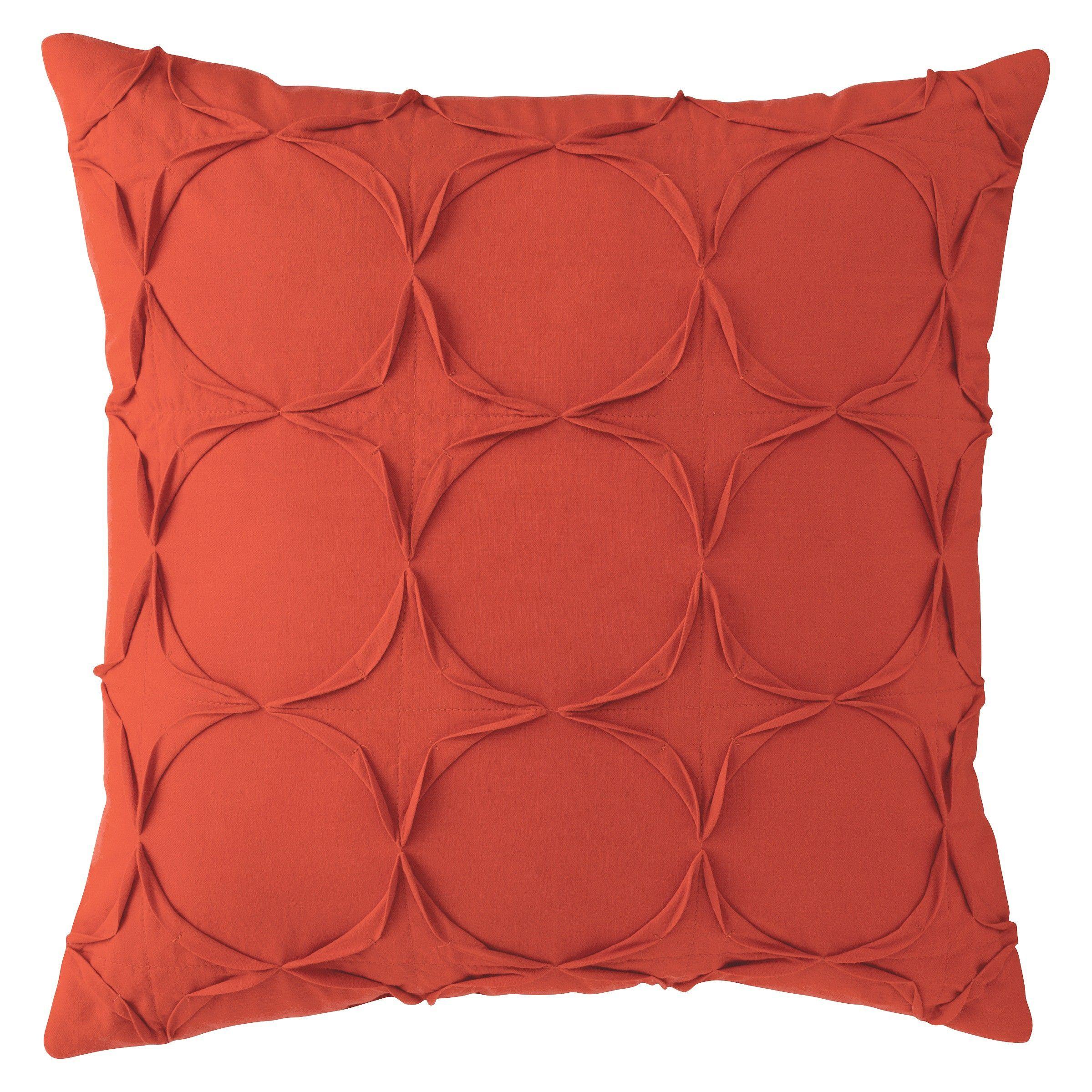 Room essentials circle texture decorative pillo