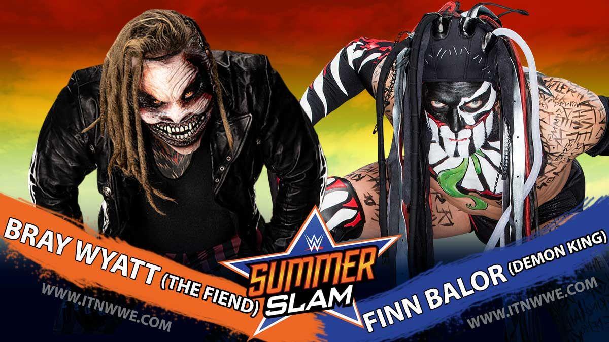The Fiend Bray Wyatt vs The Demon King Finn Balor Set for