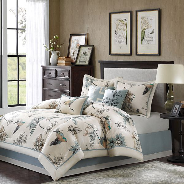 set p design leaf comforter pc cool by park central madison bed multi