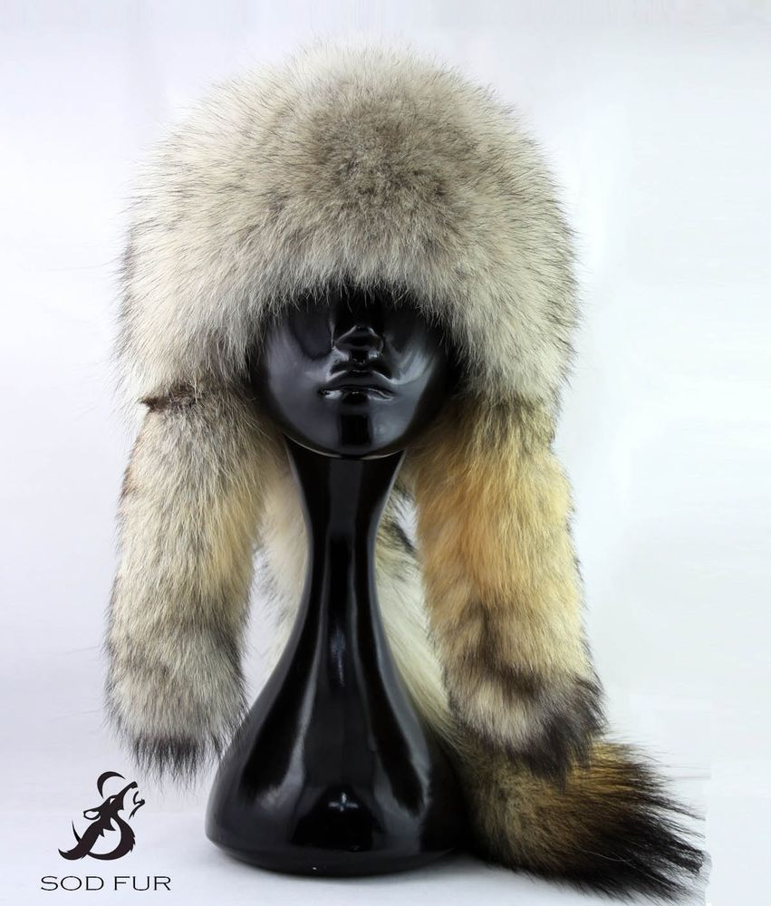 a325f6bfda4efa Men's Wolf Fur Hat. Fur Hat With Wolf Tail. Mongolian Warrior Style  #SodFurMongolia