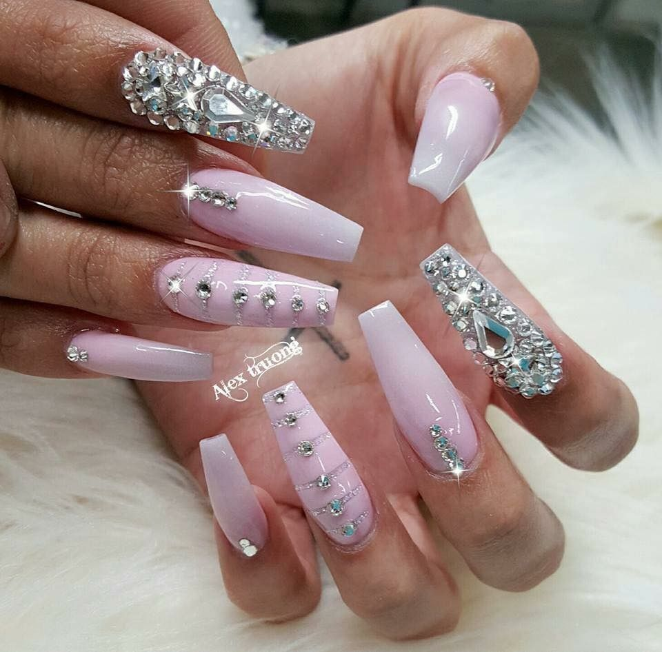 Pin by Breyonna Williams on Nails | Pinterest | Prom nails