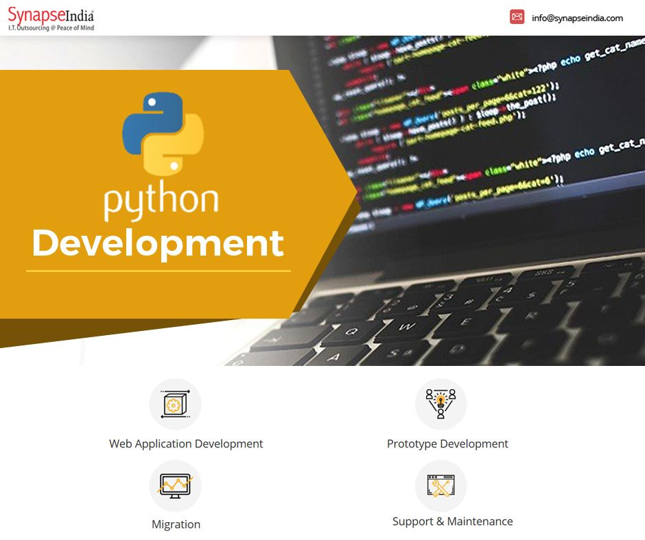 Python is an open-source programming language for ...