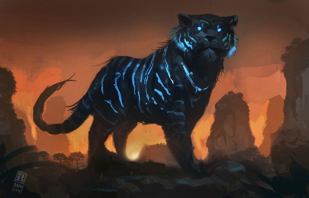 Mystic Tiger By Raph04art Deviantart Com On Deviantart