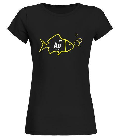 Goldfish Au Cool Periodic Table Element Of Gold Shirt Golf T-Shirt - best of periodic table joke au