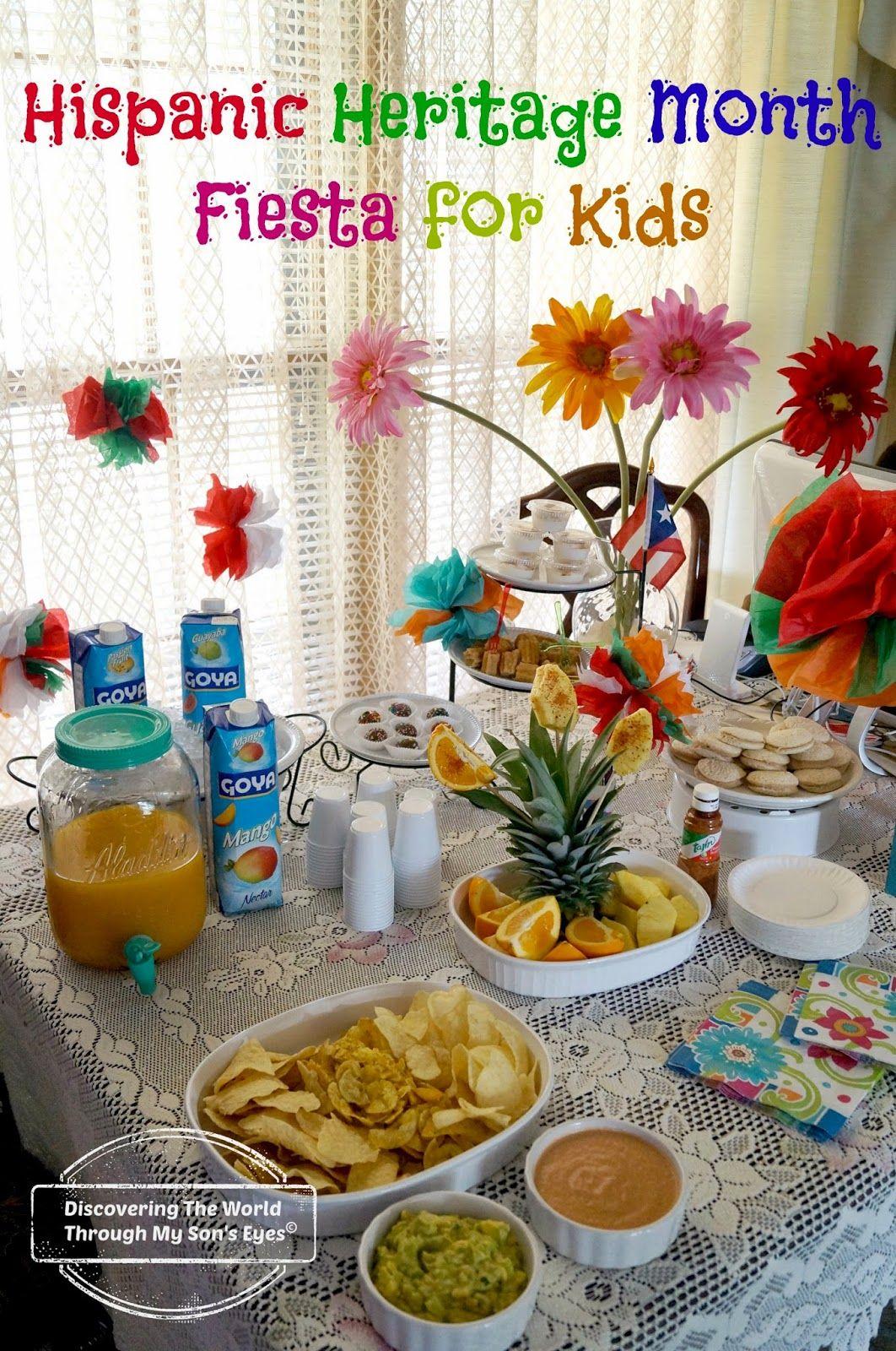 Hispanic Heritage Month Fiesta For Kids