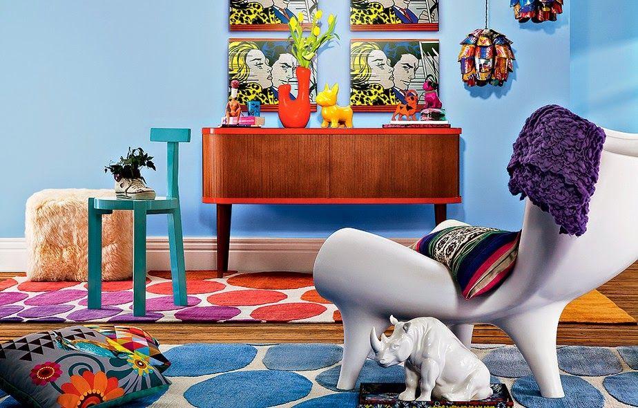Pop Art e Toy Art na Decoração - alegre sua casa com essa tendência!