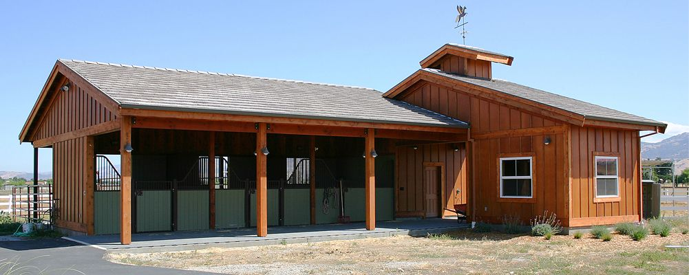 pole barns horse barns plans for barns - Horse Barn Design Ideas