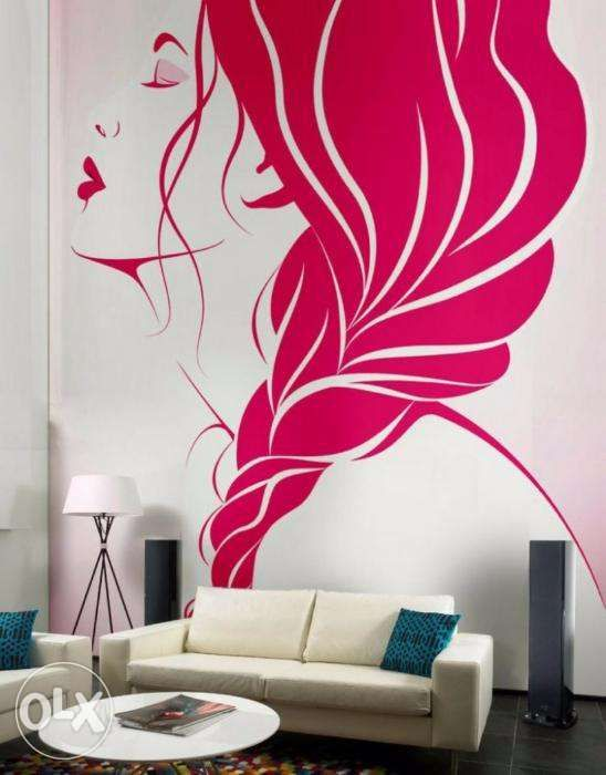 Wall Painting Designs For Bedrooms Fair Room Paint Designs For Guys  Lahore  Furniture  Salon Equipment Inspiration