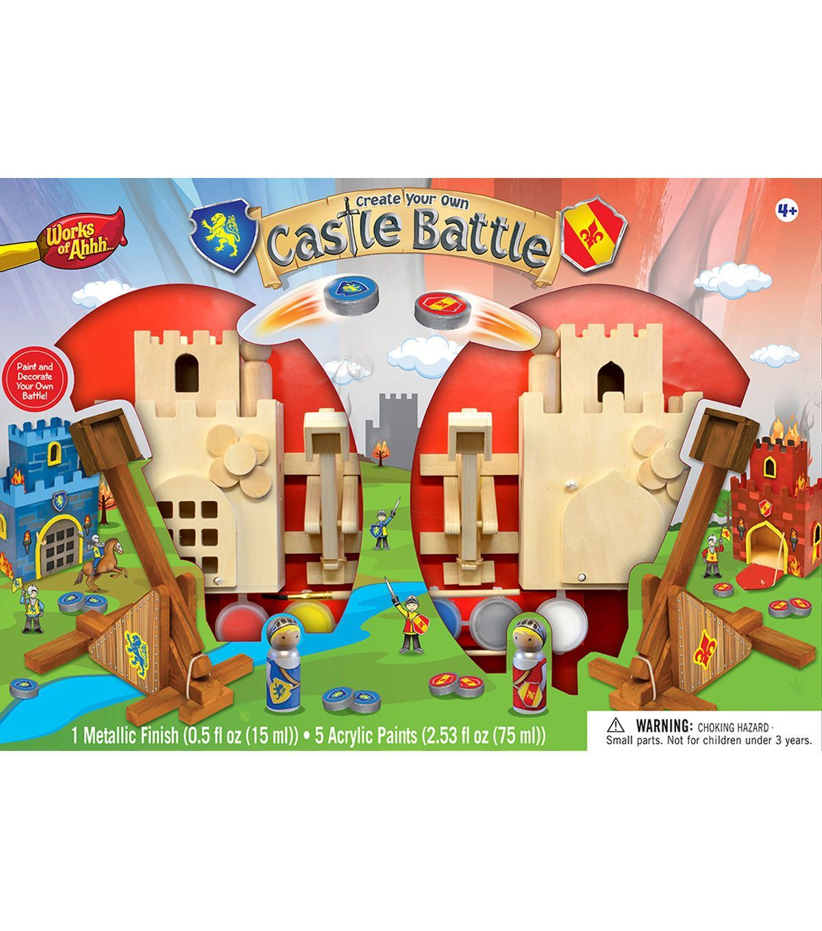 works of ahhh the castle battle wood craft collection | wood