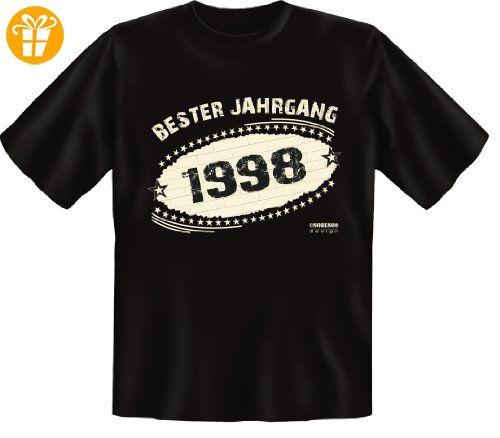 T-Shirt - Bester Jahrgang 1998 - lustiges Sprüche Shirt ideal als Geschenk  zum 19