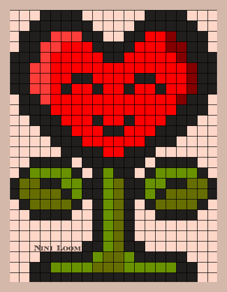 Theme Love Cross Stitch Dessin Pixel Dessin Carreau Et