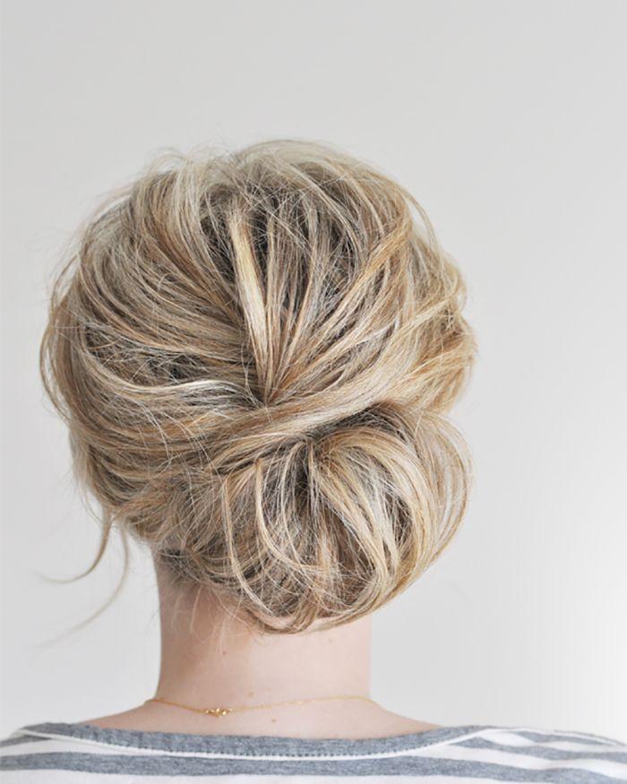 military ball hair tutorial