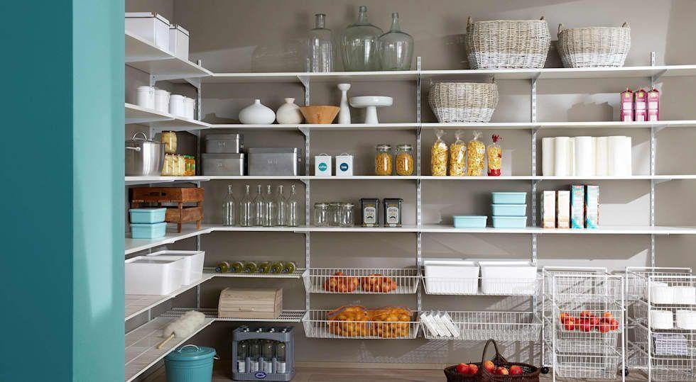 Hauswirtschaftsraum Regalsystem P Slot Abstellkammer Kuche Von