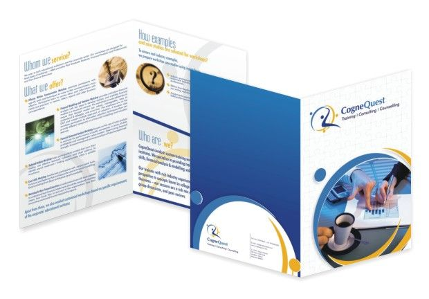 Bi Fold  Panel  Consulting  Counseling Services Brochure