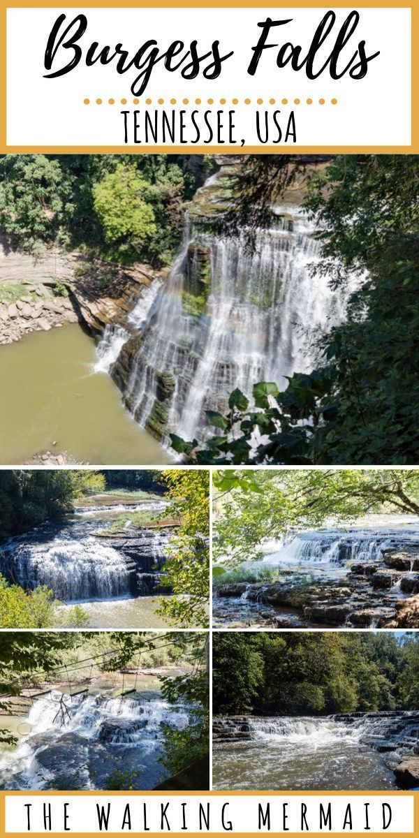 Burgess Falls State Park, Tennessee