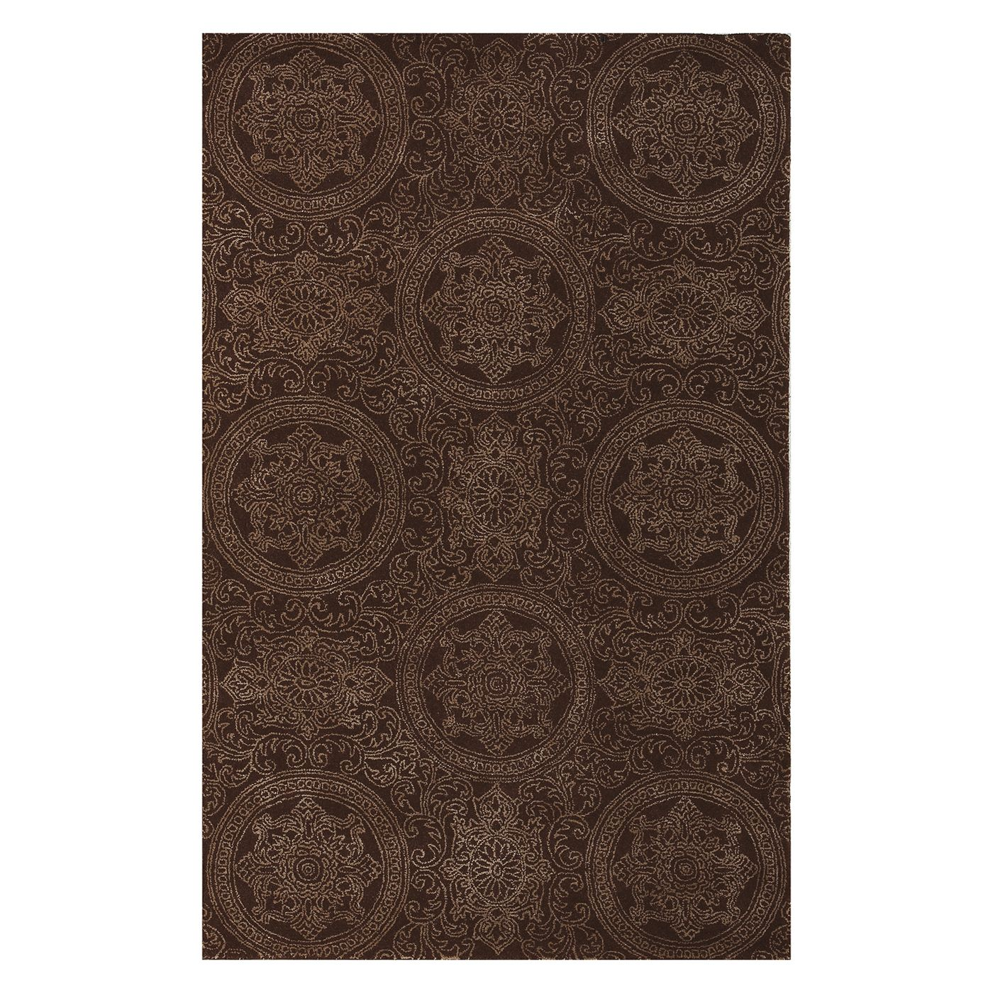Amer Rugs Asc34b Tracy Chocolate Area Rug Atg Stores With