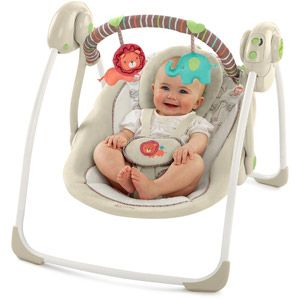 Bright Starts Comfort Harmony Portable Swing Cozy Kingdom With Images Baby Swings Favorite Baby Products Bright Starts