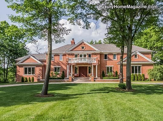 Luxury Homes Michigan | Brighton Luxury Homes And Real Estate | Bitten Lake  Dream Home