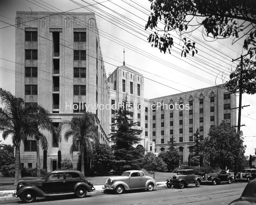 Cedars Of Lebanon Hospital 1939 Fountain Ave Wm Jpg 900 720 La