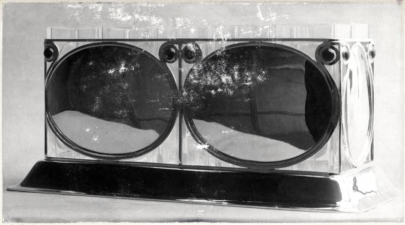 """Objektbezeichnung: Fotografie Titel: """"Jardiniere"""" Modellnummer: S 766 Entstehung / Datierung: Hoffmann, Josef, Entwurf des abgebildeten Objekts Wiener Werkstätte, Ausführung des abgebildeten Objekts, Wien, 1906"""