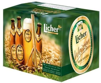 Bia Licher 5,4% - Chai 500ml - Thùng 20 Chai