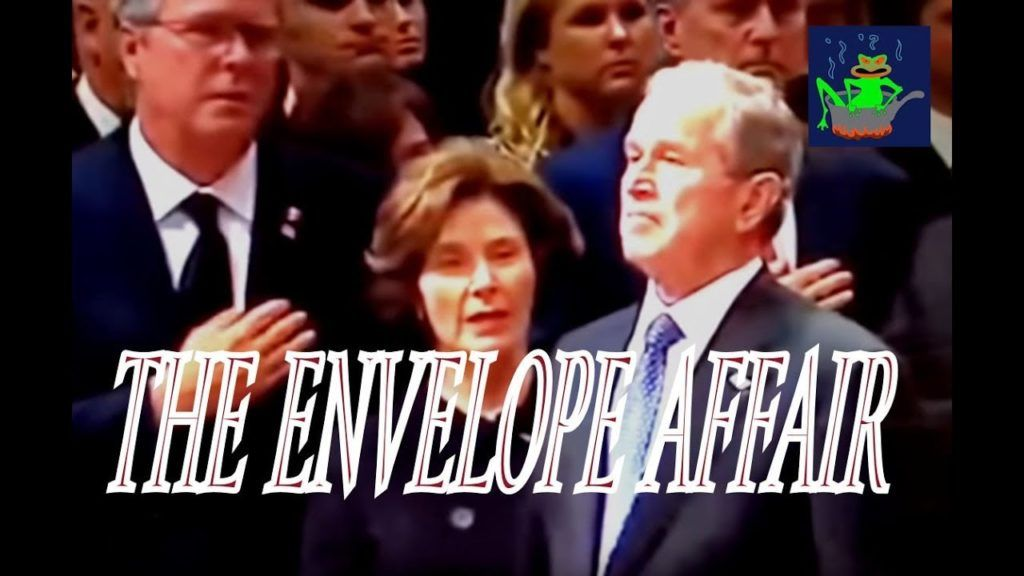 """Bush Funeral """"Envelope Affair"""" Solved The Mexican"""