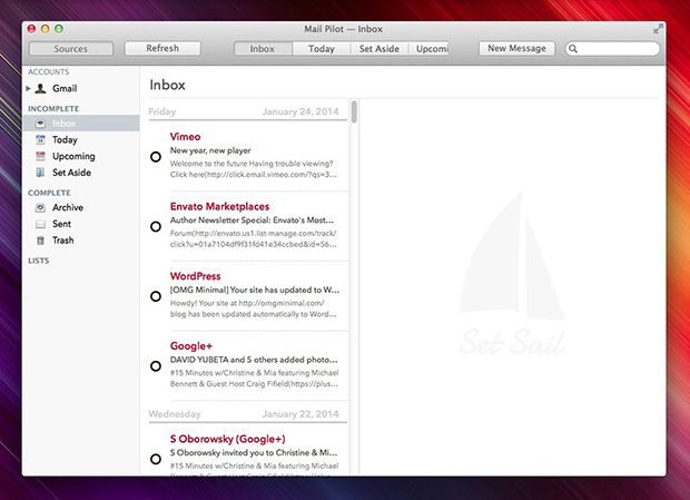 Mail Pilot — Task focused Email App for Mac | Tech/Gadgets/Mobile