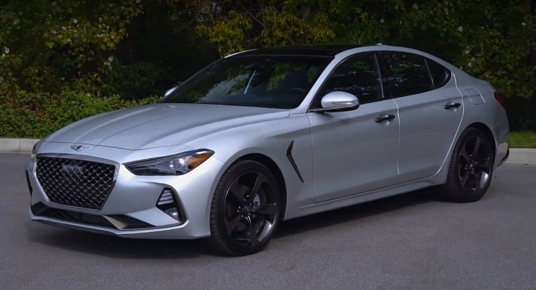 2019 Genesis G70 Deemed A True Sports Sedan In Latest Review Deemed G70 Genesis Latest In 2020 Sports Sedan Sedan Luxury Sedan