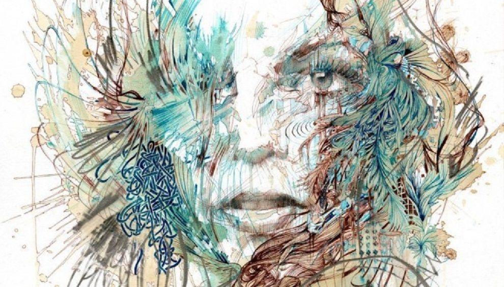 Tea Time Portrait Peinture Portraits Aquarelle Peinture