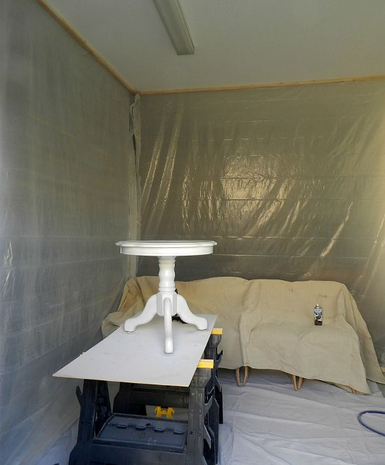 Weekend Paint Booth Imgur Paint Booth Diy Paint Booth Spray Booth
