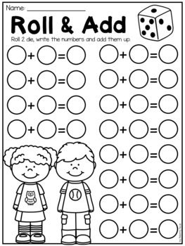 Free First Grade Math Worksheets By My Teaching Pal Teachers Pay Teachers First Grade Math Worksheets Homeschool Kindergarten Homeschool Math