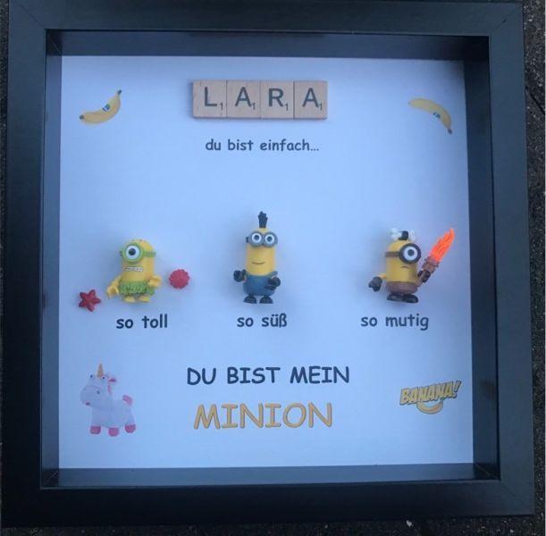 Für alle Minion Fans! Personalisierter Bilderrahmen für
