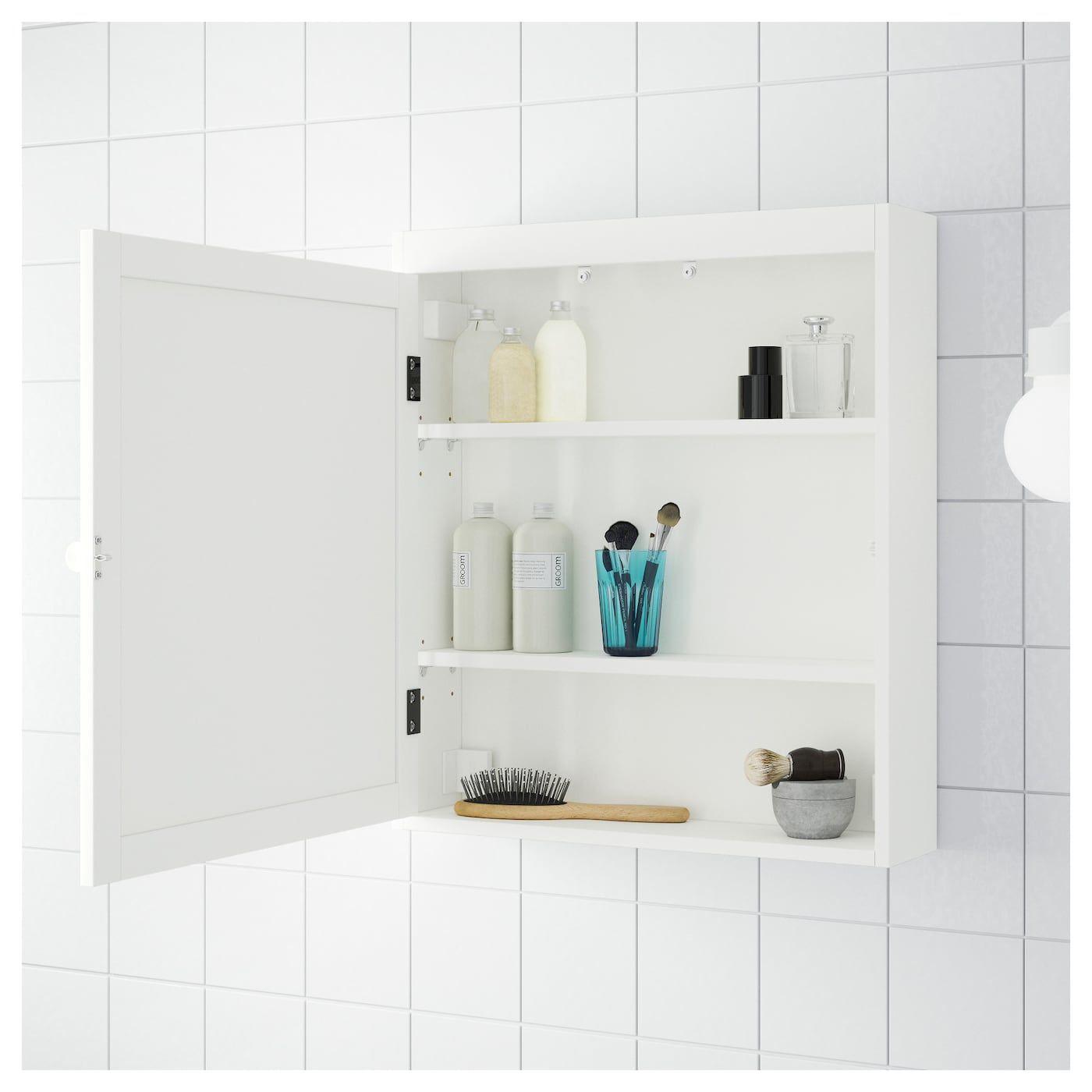 IKEA SILVERAN White Mirror cabinet | Mirror cabinets ...