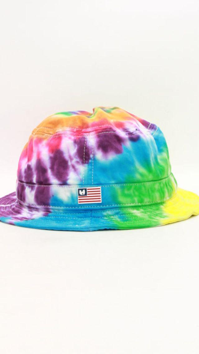 28426cba5 Tie Dye Bucket Hat | Tie dyes in 2019 | Hats, Bucket hat, Tie dye