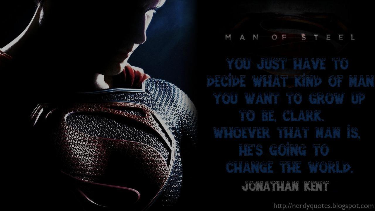 Man Of Steel Quotes Man Of Steel Movie Quotes  Superman  Jor El And Kal El  Quotes