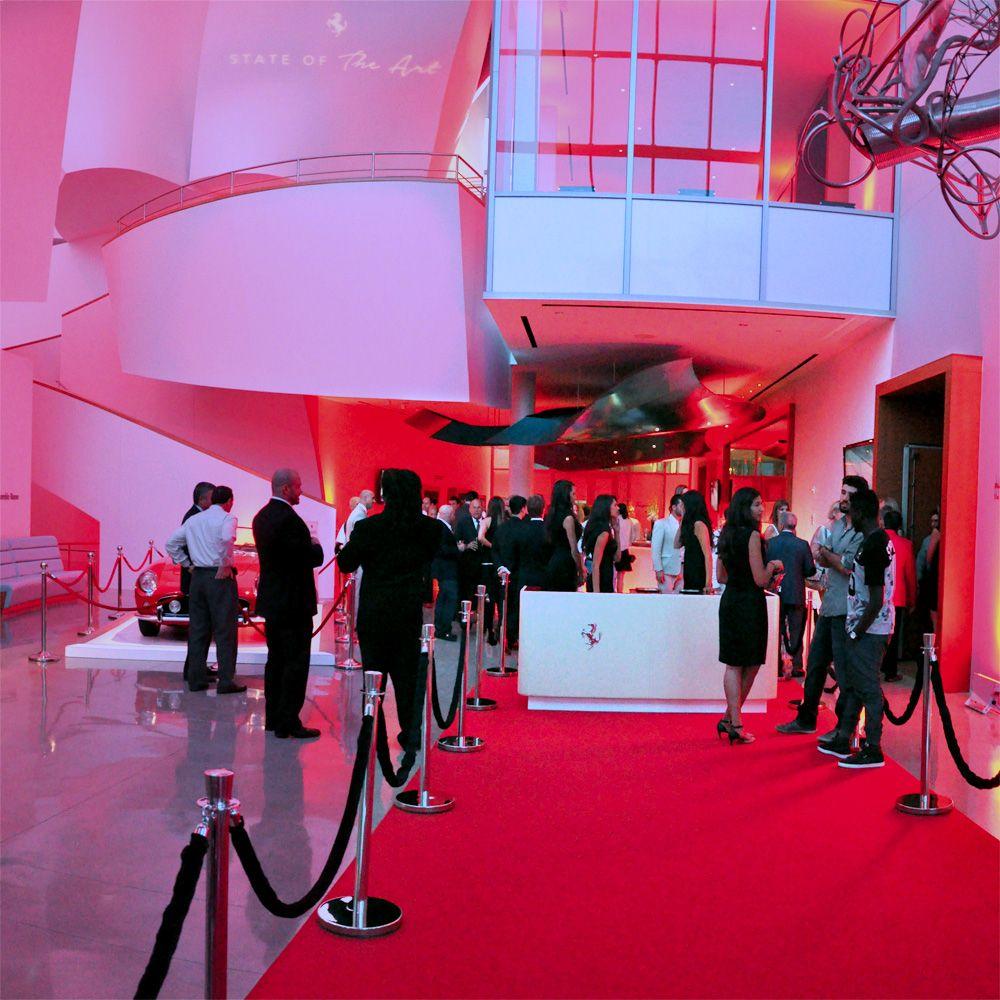 First Floor Entrance For The Ferrari California T State Of The Art Miami Premier C Bombshell Productio Ferrari California T Ferrari California Premium Brands