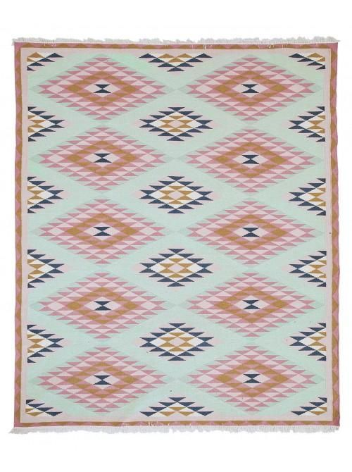Blue And Pink Navajo Geometric Rug Fair Isle Pinterest Room