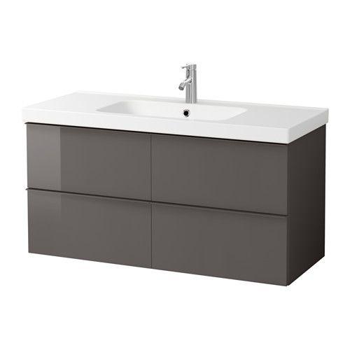 IKEA - GODMORGON / ODENSVIK, Mobile per lavabo con 4 cassetti ...