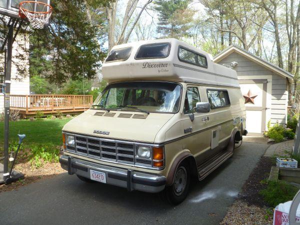 1988 Dodge Camper Van Dodge Camper Van Custom Vans Camper Van