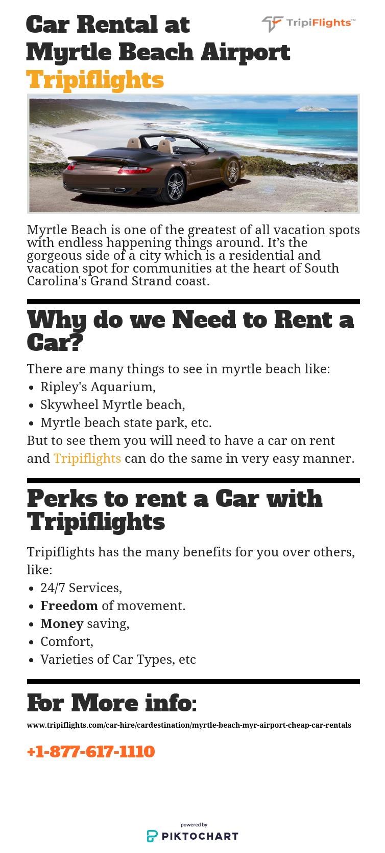 Car Rental At Myrtle Beach The Best Way To Travel Tripiflights Car Rental Car Rental Deals Airport Car Rental