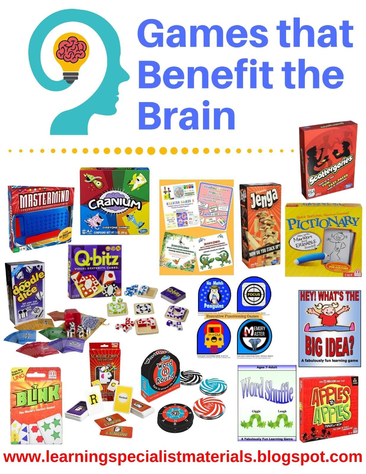 Games that Benefit the Brain (With images) Dyslexia