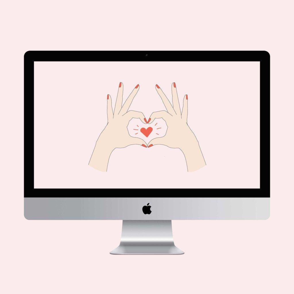Hand Heart Desktop Phone And Tablet Wallpaper Tablet Wallpaper Heart Wallpaper Wallpaper