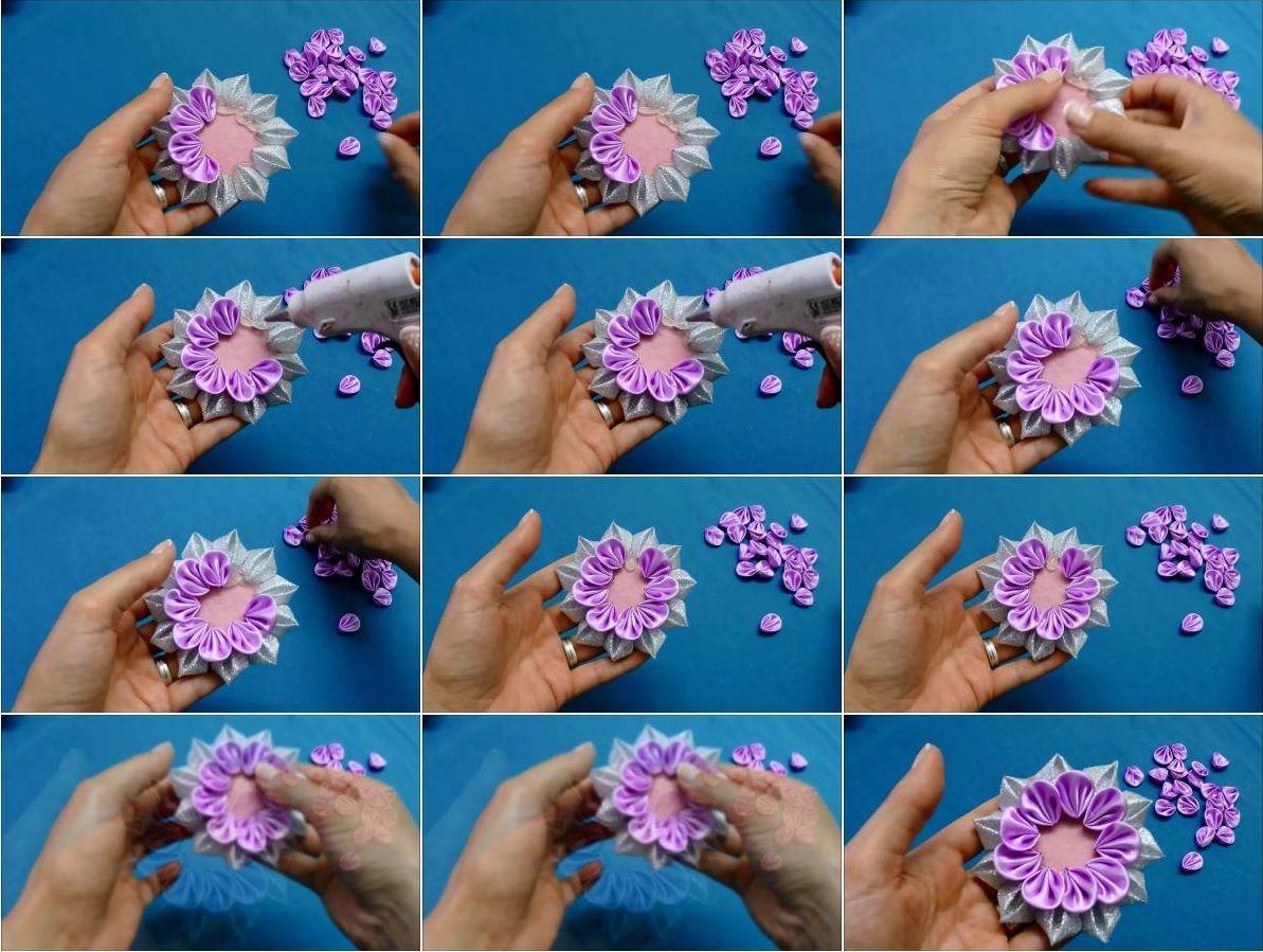 How to make kanzashi ribbon flower usefuldiy kanzashi photo how to make kanzashi ribbon flower usefuldiy mightylinksfo