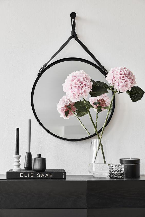trend kreise vor allem spiegel im beliebten scandi style erkennt man an der typischen. Black Bedroom Furniture Sets. Home Design Ideas